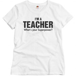 I'ma teacher