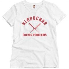 Klobuchar Solves Problems