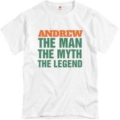 Andrew the man