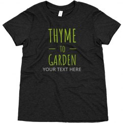 Kids Thyme To Garden Tee