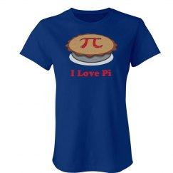 I Love Pi Pie