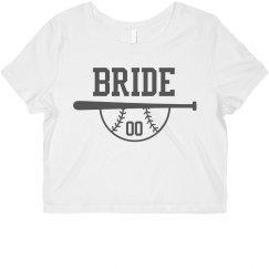 Custom Bride Team Number Crop