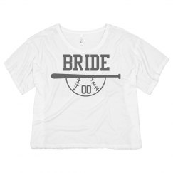 Custom Bride Team Number Crop
