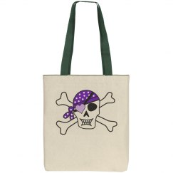 Purple Pirate Crossbones
