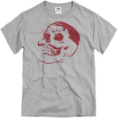 Distressed Dali Skull