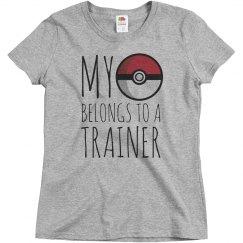 I Belong To A Trainer