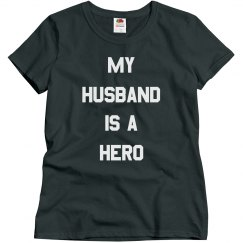 Military Wife My Husband Is A Hero