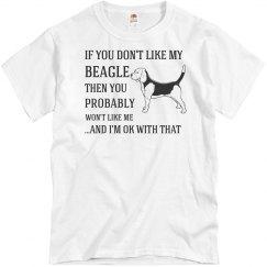 Like my Beagle dog
