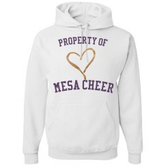 PROPERTY OF MESA CHEER HOODIE