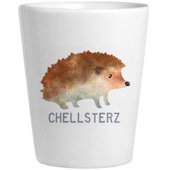 Chellsterz Hedgehog Shot Glass