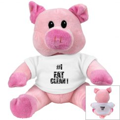 TEAM FIT PLUSH PIGGY