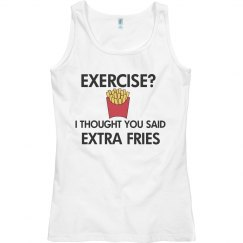 Exercise???