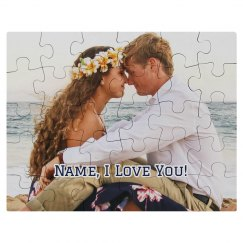 I Love You Custom Photo Gift