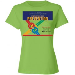 17th Annual Mid-Year Ladies T-Shirt- Lime