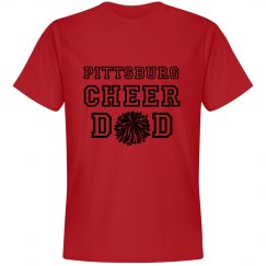 cheer dad orange t