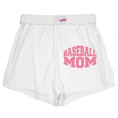 Baseball Mom cheer shorts