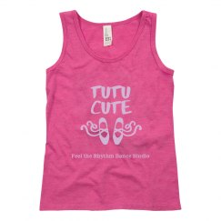 Youth Tutu Cute Tank