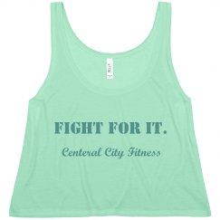 Fight For It Workout Tank