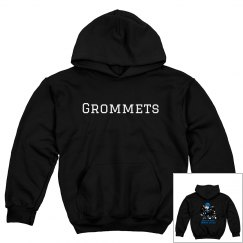 Grommets Pullover Youth Hoodie