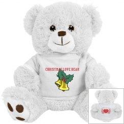 Christmas Love Bear
