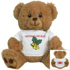 Christmas Love Bear