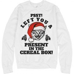 Festive Feline Present