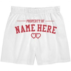 Property Of Custom Boxer Set
