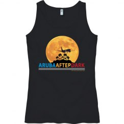 Aruba After Dark Excl By KAD | Womens Semi-Fitted Tank