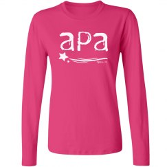 Ladies Long Sleeved T APA