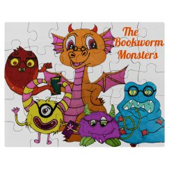 The Bookworm Monsters Puzzle