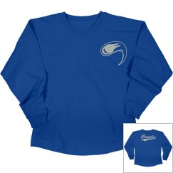 Central crossing comets long sleeve shirt.