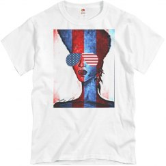 4th of July Shades Tshirt