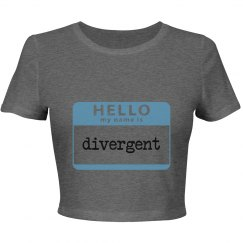 Divergent series graphic tee