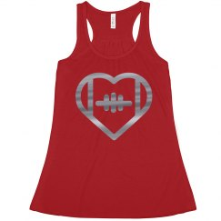 Crimson And Grey Football Crop