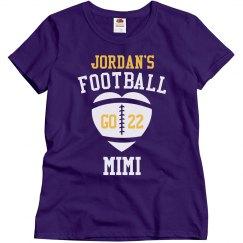 Football Mimi Custom Tee
