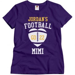 Football Mimi Custom Tee
