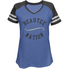 BEAUTEE NATION JERSEY STYLE 2 - Blue