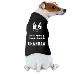 I'll tell Granmaw pet shirt