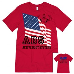 ACTIVE BODY SYSTEMS MENS T-SHIRT