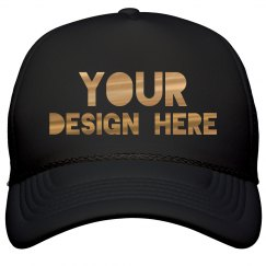 Custom Metallic Trucker Hat