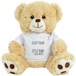 Luci Bluez Little One Teddy Bear