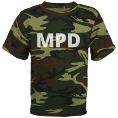 MPD Youth Camo Tee