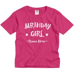 Custom She's The Birthday Girl