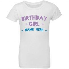 Custom Ruffle Birthday Girl