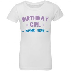 Custom Ruffle Birthday Girl