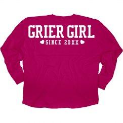 Grier Girl Fandom Tees Custom