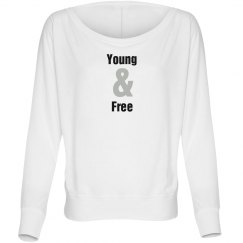 Young & Free Tee