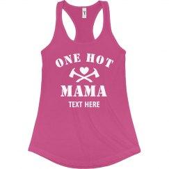 Personalized Hot Mama Tank