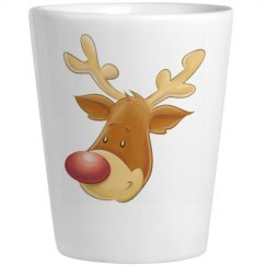 Reindeer Shot Glass