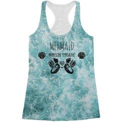 Mermaid Swim Team Tank